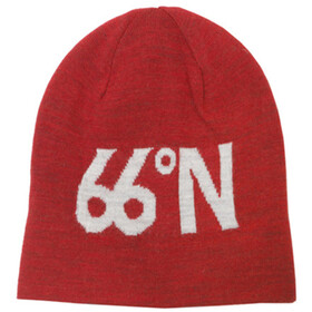 66° North 66°N Fisherman's Cap Hoofdbedekking rood